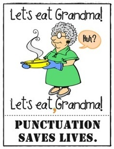 Friday Funny: Why Punctuation Matters